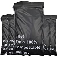 9 x 12 Eco-Friendly Mailer/Mailers 100 Pack of 100% Compostable Mailer Bags Non Bubble Mailers (23cm x 34cm)