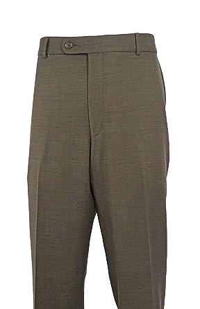 """369988e28ce Ballin Comfort-""""EZE"""" super 110's wool Sharkskin dress slacks ..."""