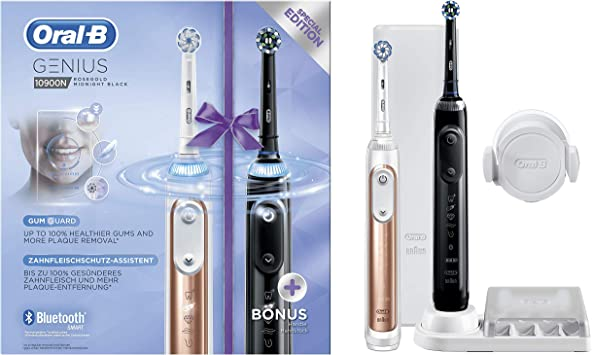 Oral-B Genius 10900N - Cepillo Eléctrico Recargable con Tecnología ...