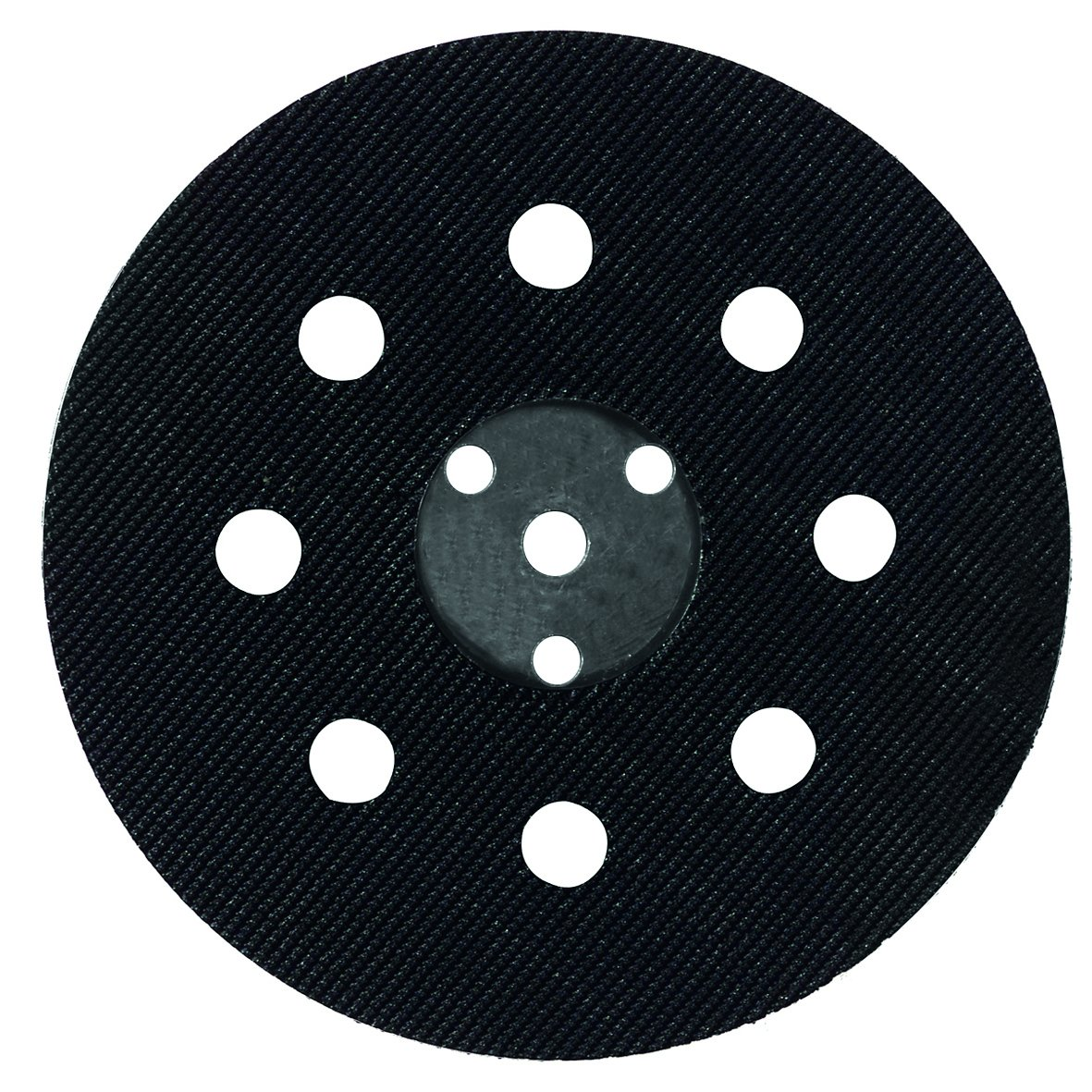 Wolfcraft 2227000 125mm Easy Fix Backing Pad for Bosch PEX 12/ 125/ 400