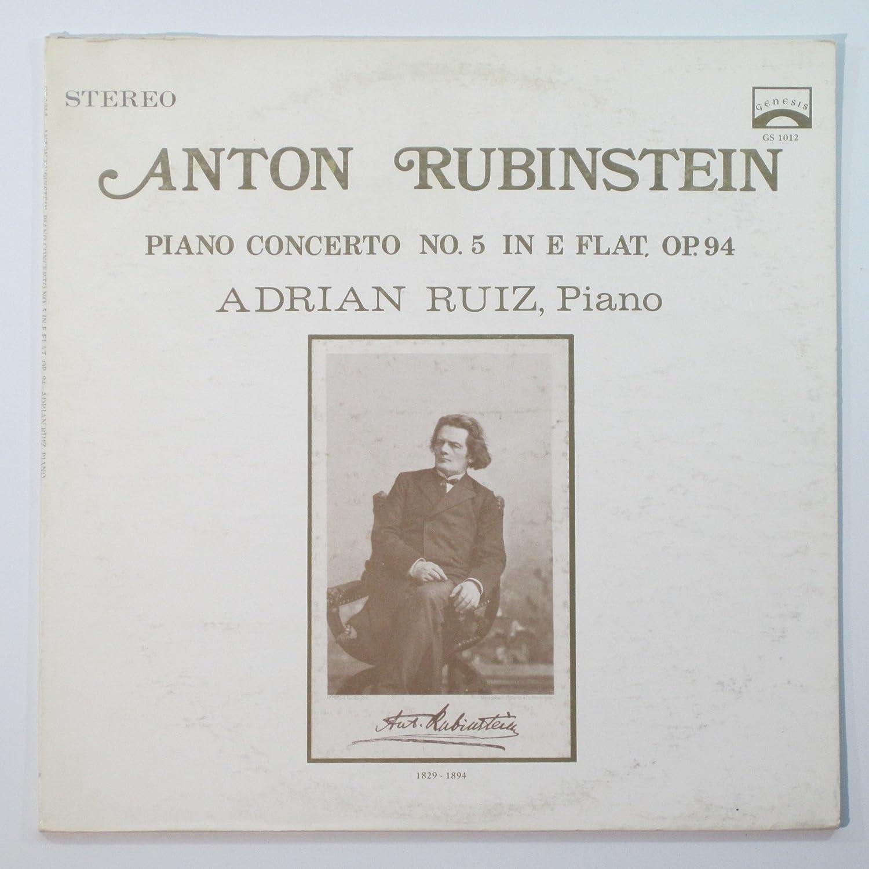 Anton Rubinstein: Piano Concerto No  5  Adrian Ruiz, Piano Original  recording