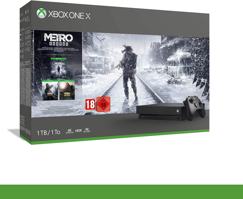 Xbox One X + Metro Exodus [Bundle] [Importación italiana]: Amazon ...