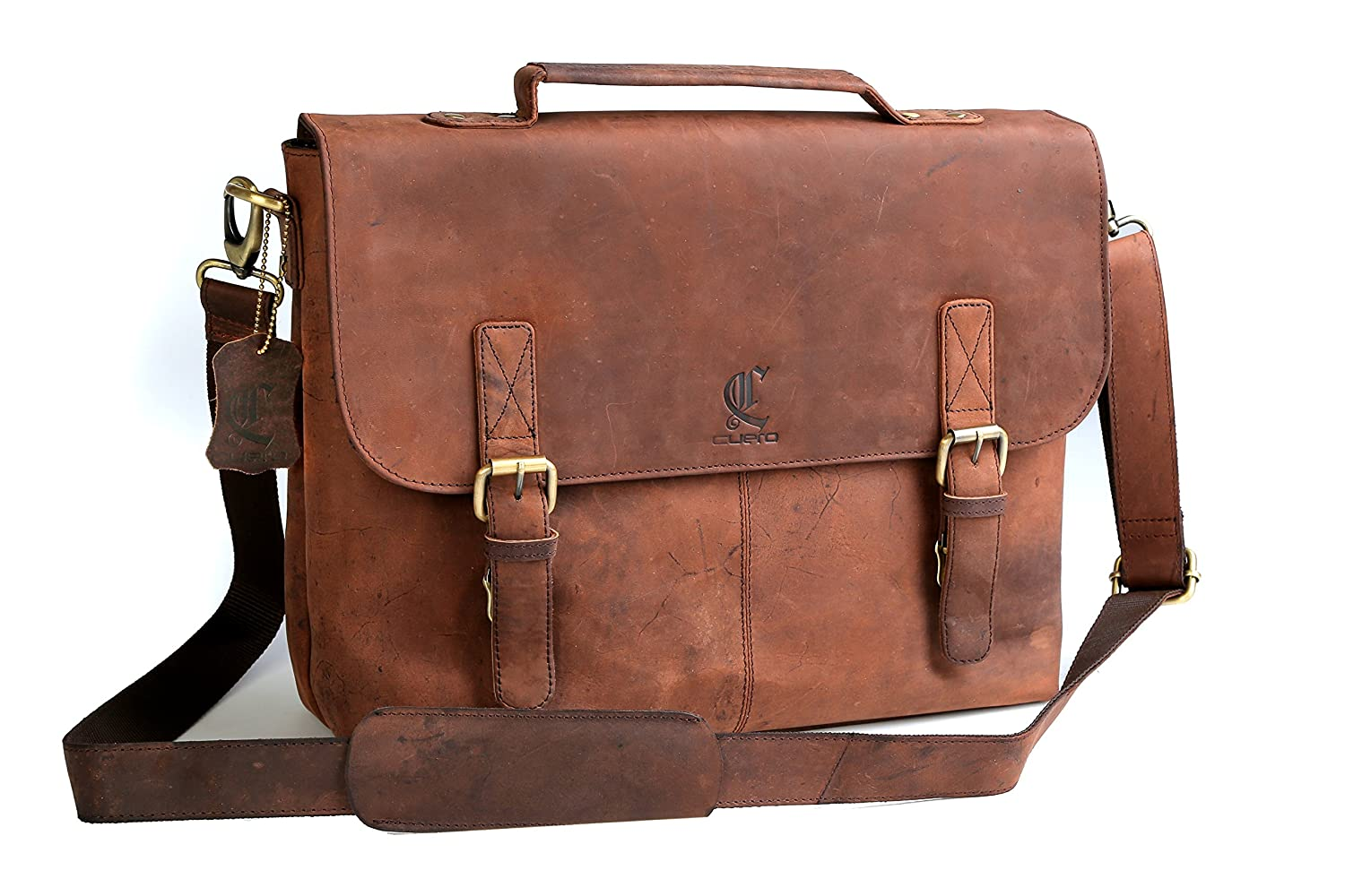 Interesting. Tell Vintage laptop briefcase
