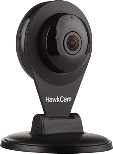HawkCam Pro Home Security Camera Wireless, Nanny Cam – Audio, FalconWatch HD WiFi Motion Activated, Burglar Deterrent Cam USB, DIY Indoor Cameras Watch Live Most Device