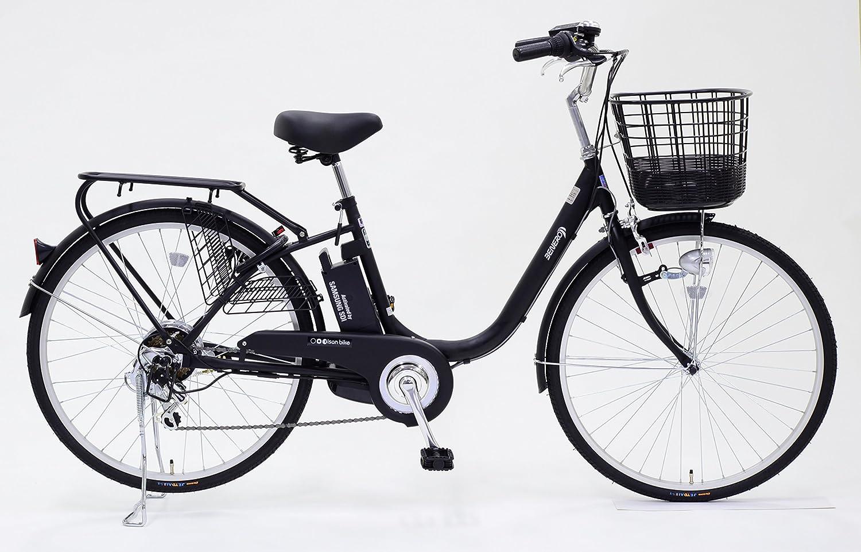 Eisan Bike(エイサンバイク)電動アシスト自転車 BENERO268 8アンペア(ブラック)   B071ZJNWDS