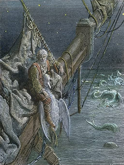Amazon.com: Coleridge Ancient Mariner 1876 The Mariner Sits With The  Albatross Around His Neck Engraving After Gustave Dor (1832-1883) For  Samuel Taylor ColeridgeS Rime Of The Ancient Mariner 1876 Poster Print by: