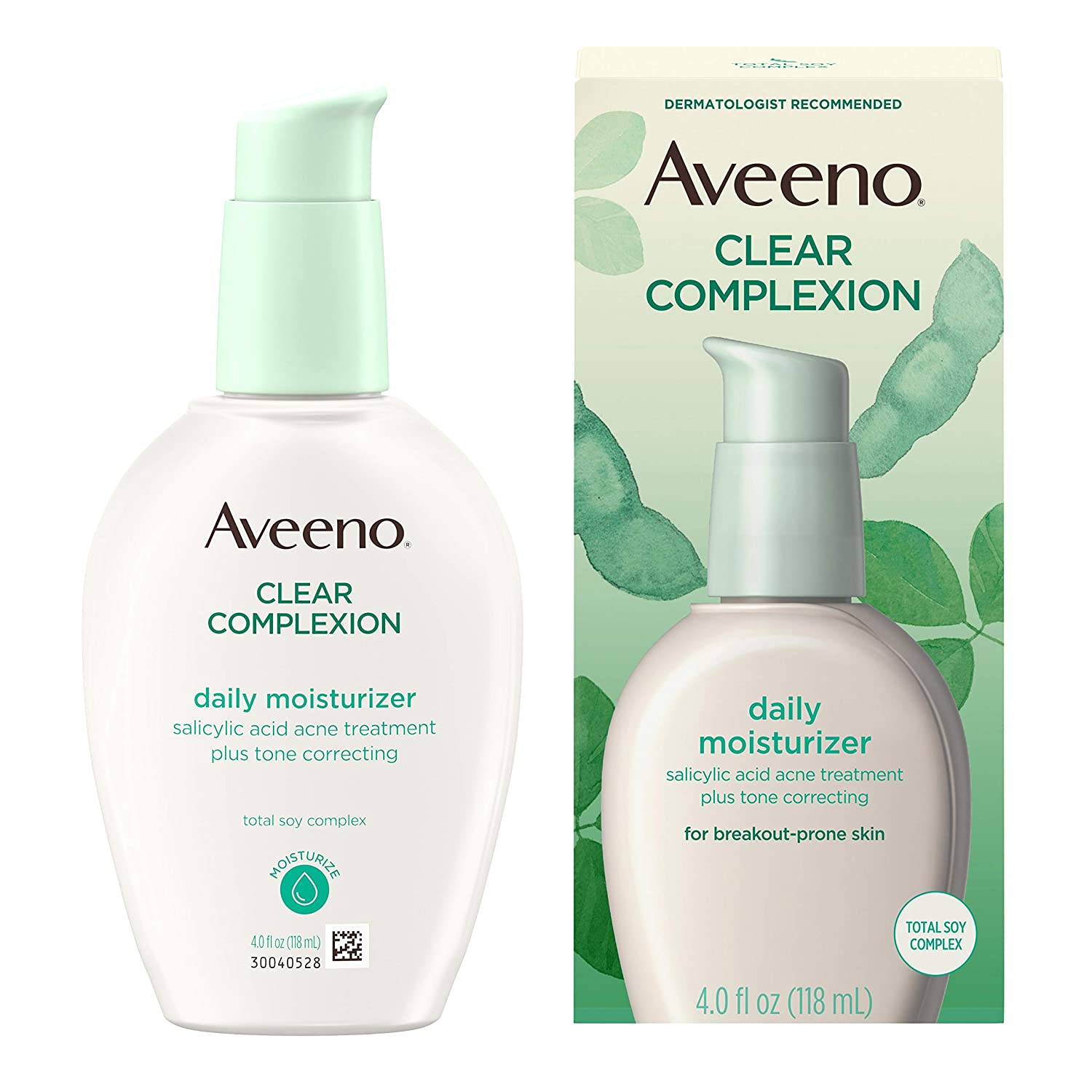 Amazon Com Aveeno Clear Complexion Salicylic Acid Acne Fighting