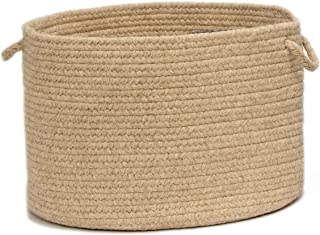 product image for Colonial Mills Shear Natural Utility Basket, 14 by 10-Inch, Muslin