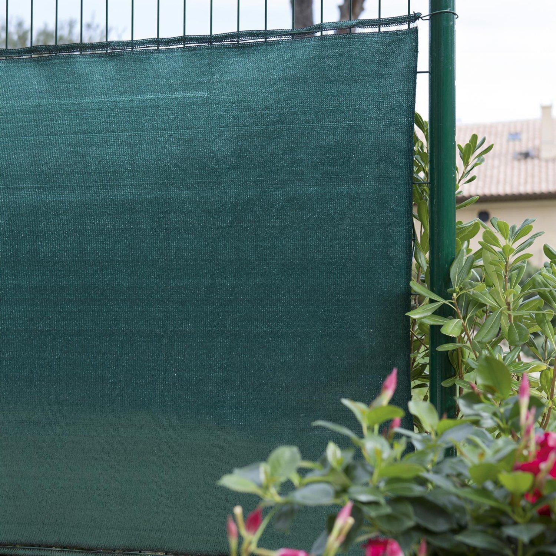 casa pura Brise-Vue Marius 1x10m Terrain de Sport Jardin pour Balcon Pare-Vent Pare-Soleil Longueurs au Choix Hauteur 100cm