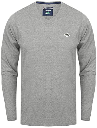 cc5267a20d2 Le Shark Mens Lanark V Neck Cotton Rich Long Sleeve Top