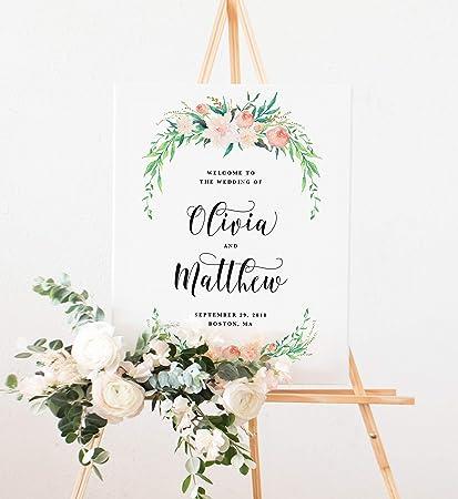 Amazon.com: Delicado ramo de boda Día de la bienvenida ...