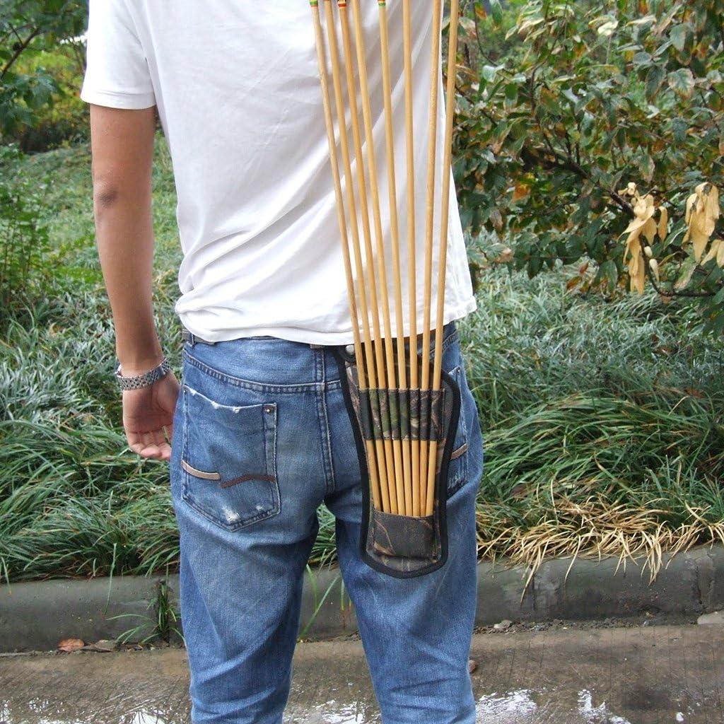 Außen Bogenschießen Taille Bogen Pfeil Halter Tasche Gürtel Zittern Wandern