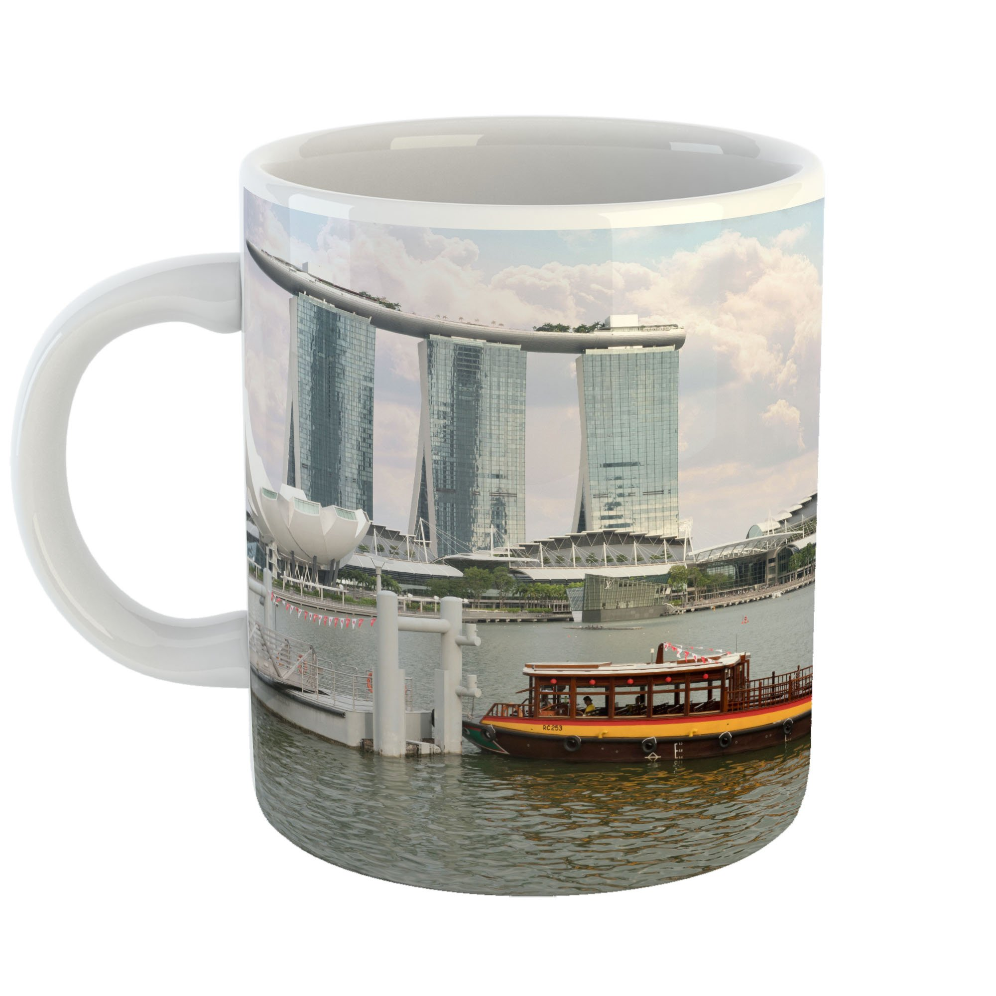Westlake Art - Hotel Boat - 11oz Coffee Cup Mug - Modern Picture Photography Artwork Home Office Birthday Gift - 11 Ounce (7B74-30A43)