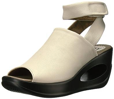 bd15b3604e365 Amazon.com | FLY London Women's Hini892fly Wedge Sandal | Platforms ...