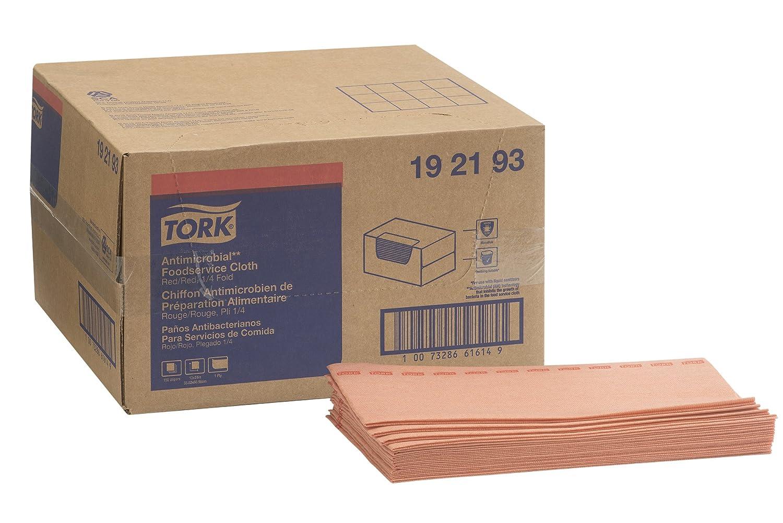 Tork 192193 Odor Resistant Foodservice Cleaning Towel, 1/4 Fold, 13
