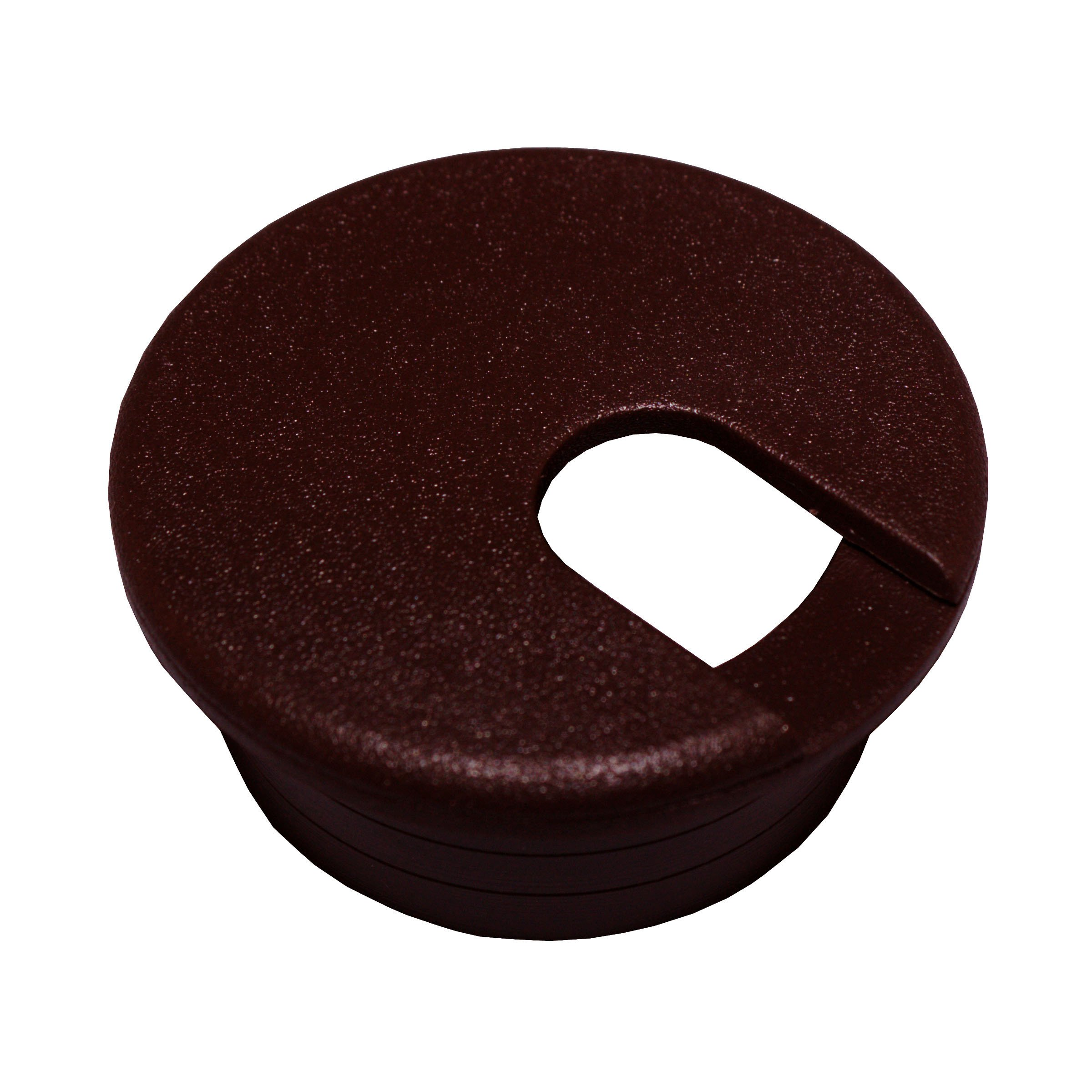 Click to view larger image Have one to sell? Sell now 25 Desk Cord Cable Wire Grommet Brown 1-1/2'' #1037