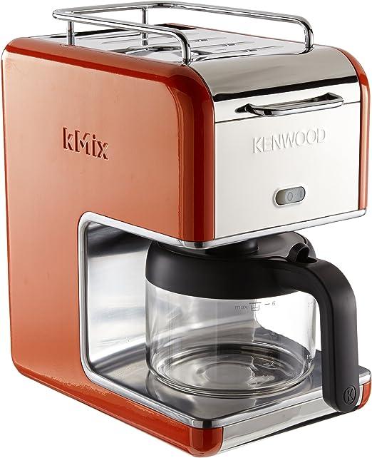 Kenwood kMix/CM 027 - Cafetera de goteo (6 tazas), color naranja ...
