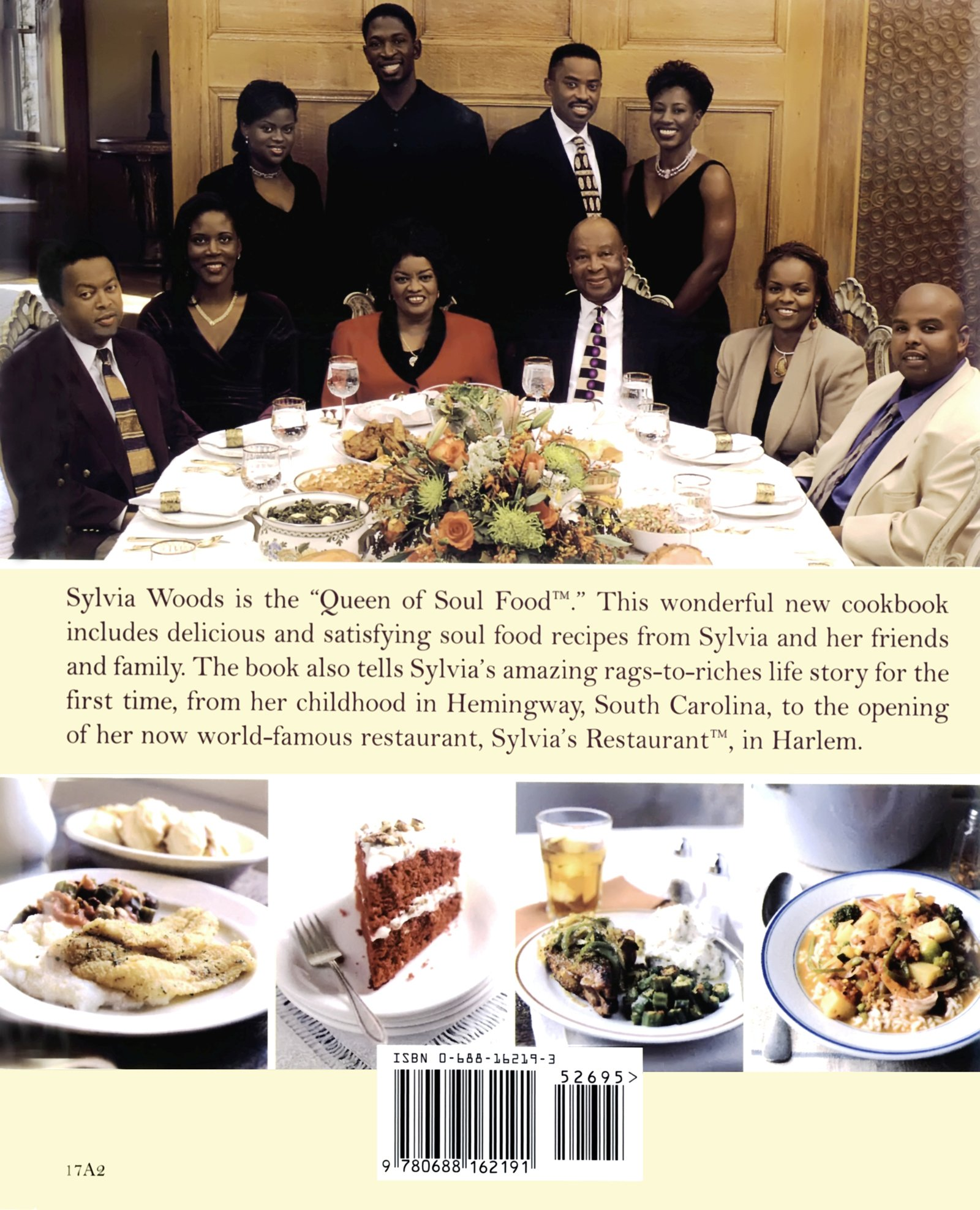 Sylvias family soul food cookbook amazon sylvia woods sylvias family soul food cookbook amazon sylvia woods the woods family 9780688162191 books forumfinder Choice Image