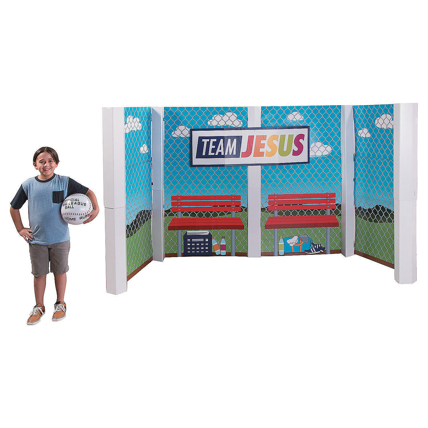 Sports VBS Large Dugout Stand-Up by CusCus