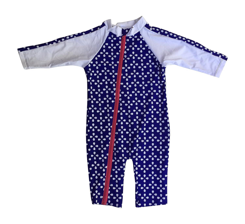 Amazon SwimZip Baby Girl and Toddler Girl Long Sleeve Sunsuit
