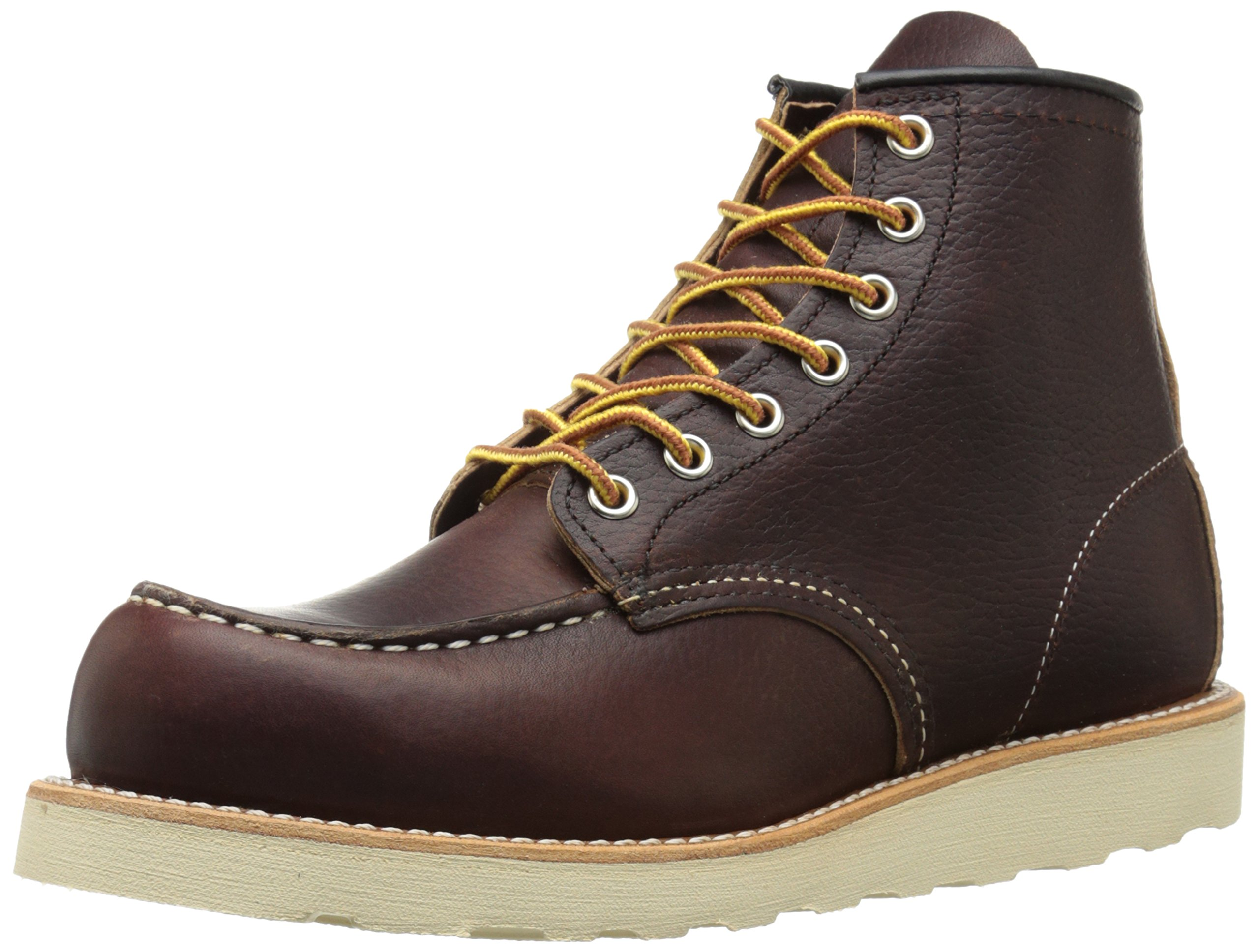 Red Wing Heritage Men's Classic Work 6-Inch Moc Toe Boot,Brown,8 D US
