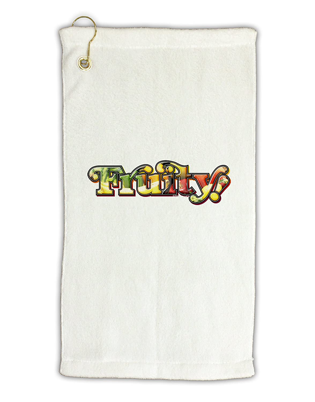 TooLoud FruityテキストMicro Terry Grometゴルフタオル11