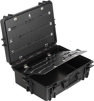 Max MAX505PU IP67 resistente al agua nominal de tapas rígidas para fotografía equipo estanca resistente de