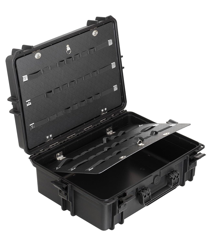 Max MAX505PU IP67 resistente al agua nominal de tapas rígidas para fotografía equipo estanca resistente de transporte Transit plástico funda/de poliuretano ...
