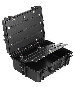 Max MAX505PU IP67 resistente al agua nominal de tapas rígidas para fotografía equipo estanca resistente de ...