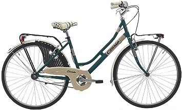 Bicicleta de paseo para mujer de 26 pulgadas de Cinzia Friendly, mujer, 8033389460266,