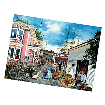 Puzzle 1000 Piece Jigsaw Puzzle for Adults,Children Puzzle Puzzle Toy Landscape Pattern: Toys & Games