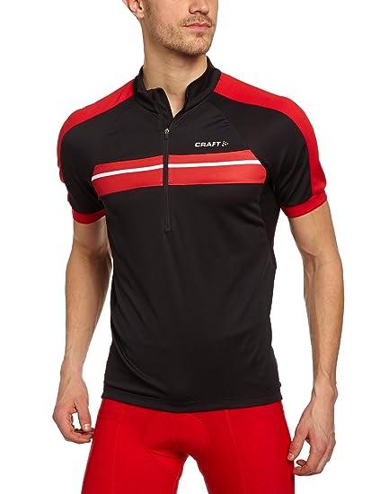 75f7de1a8 Craft Sportswear Men s Active Bike Classic 1 4 Zip Short Sleeve with  Pockets Jersey
