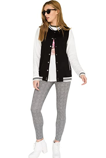 6029ad7dbd656 Ardene Women s - Bombers - Varsity Bomber Sweatshirt Large -(8A-AP00759) at  Amazon Women s Clothing store