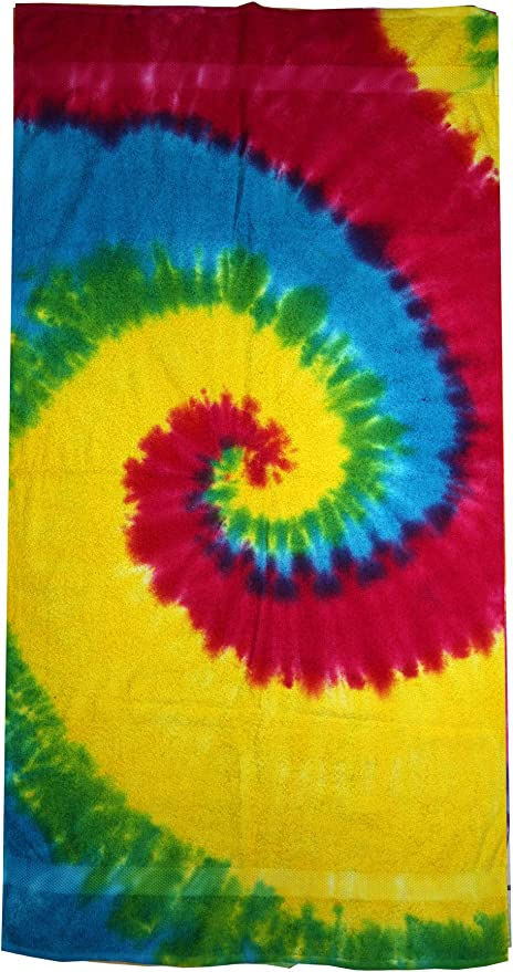 Rainbow Beach Towel 30in x 60in 100/% Cotton New