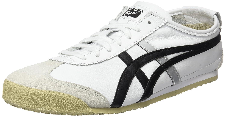 Asics Onitsuka Tiger Mexico 66, Zapatillas Unisex Adulto 37 EU|Blanco (White/Black 0190)