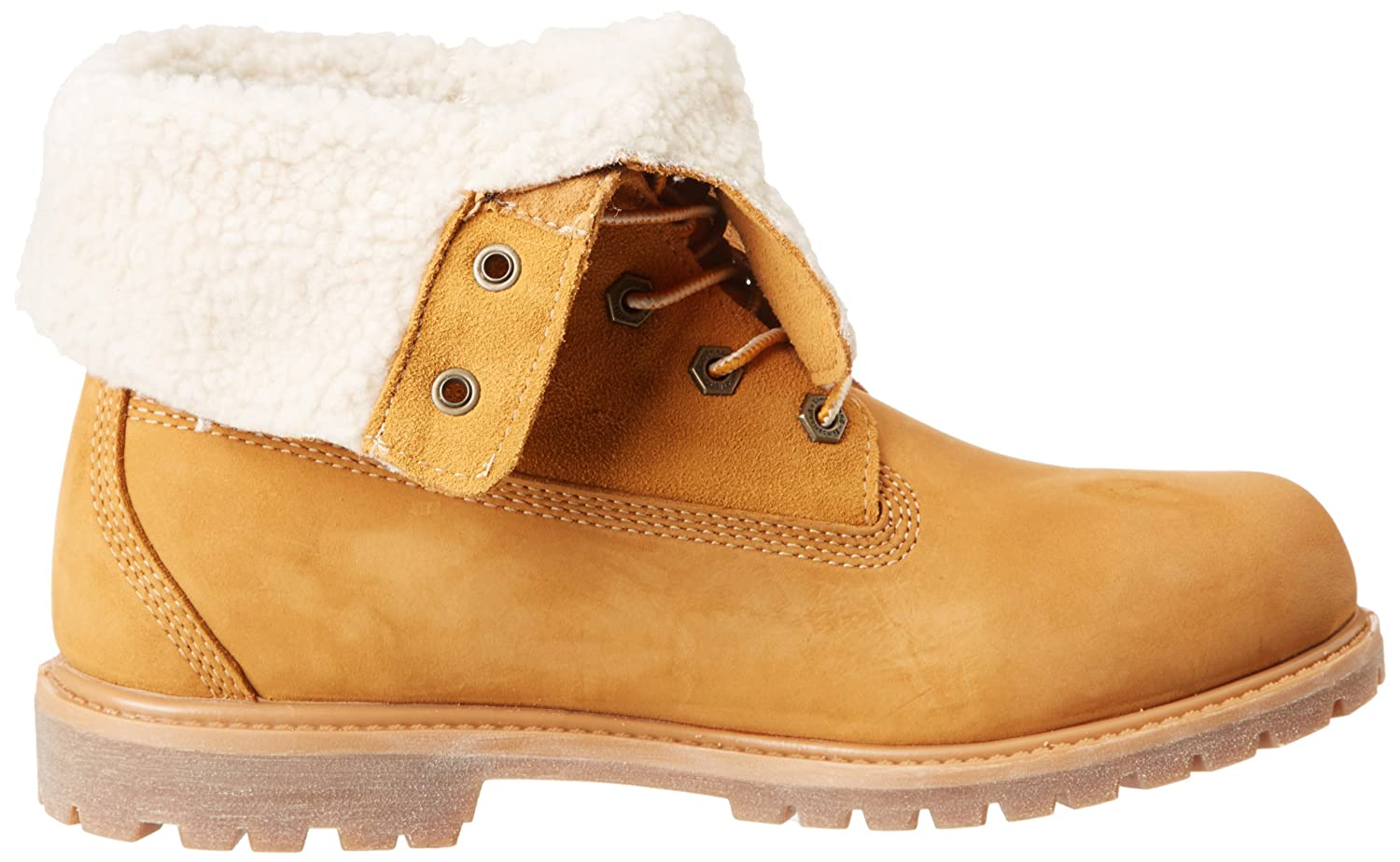 Timberland Authentics Teddy Fleece Water Proof Fold Down, Women's Boots: Amazon.co.uk: Shoes & Bags