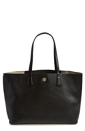 Tote Bag On Sale, Black, Nylon, 2017, one size Tory Burch