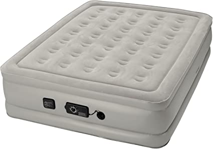 Amazon Com Insta Bed Raised 19 Inch Queen Airbed With Neverflat