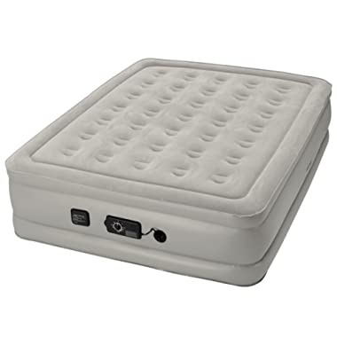 Insta-Bed Raised Air Mattress with Never Flat Pump