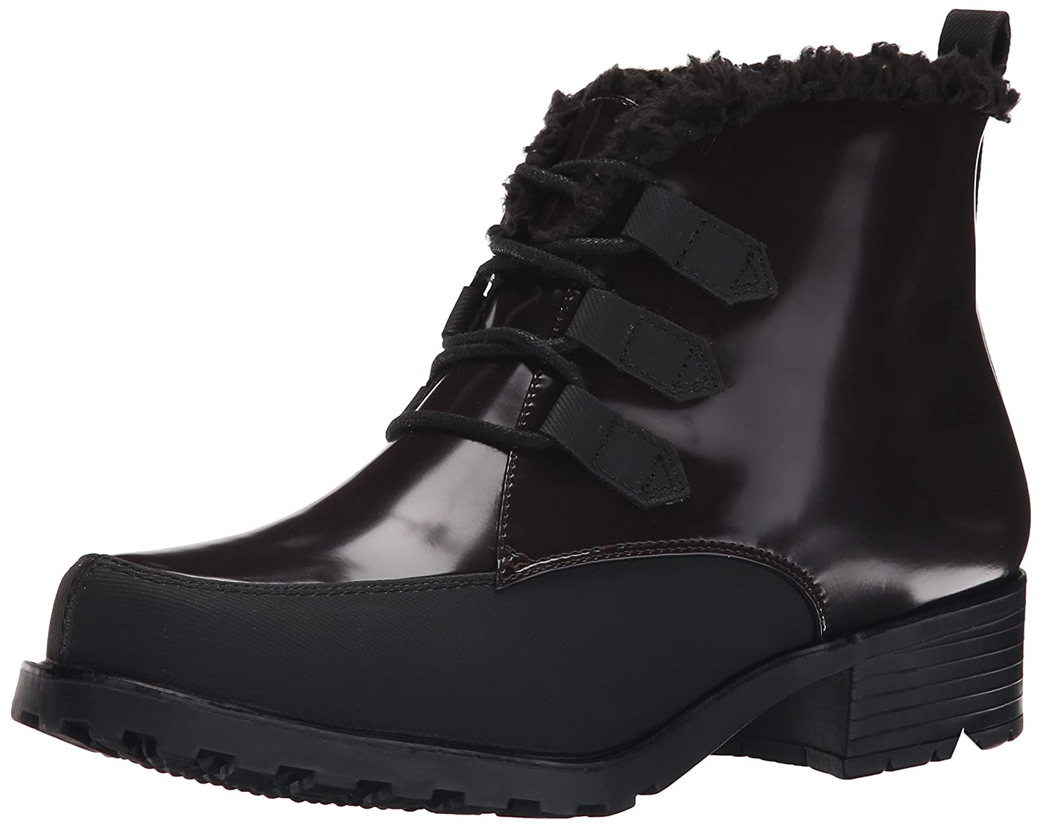 Trotters Women's Snowflake III Boot B00RZV6ED4 8 2W US|Bordeaux/Black