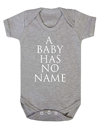 Game Of Thrones A Baby Has No Name Vest Babygrow Onesie Funny 3 6