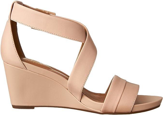 Sandales Dusty Clarks Pink Compensées Couleur Femmes Leather Rose 45LjScAq3R