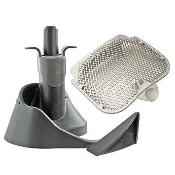 Spares2go filtro + mezcla cuchilla pala agitación brazo & Sello para Tefal Actifry – Freidora 2