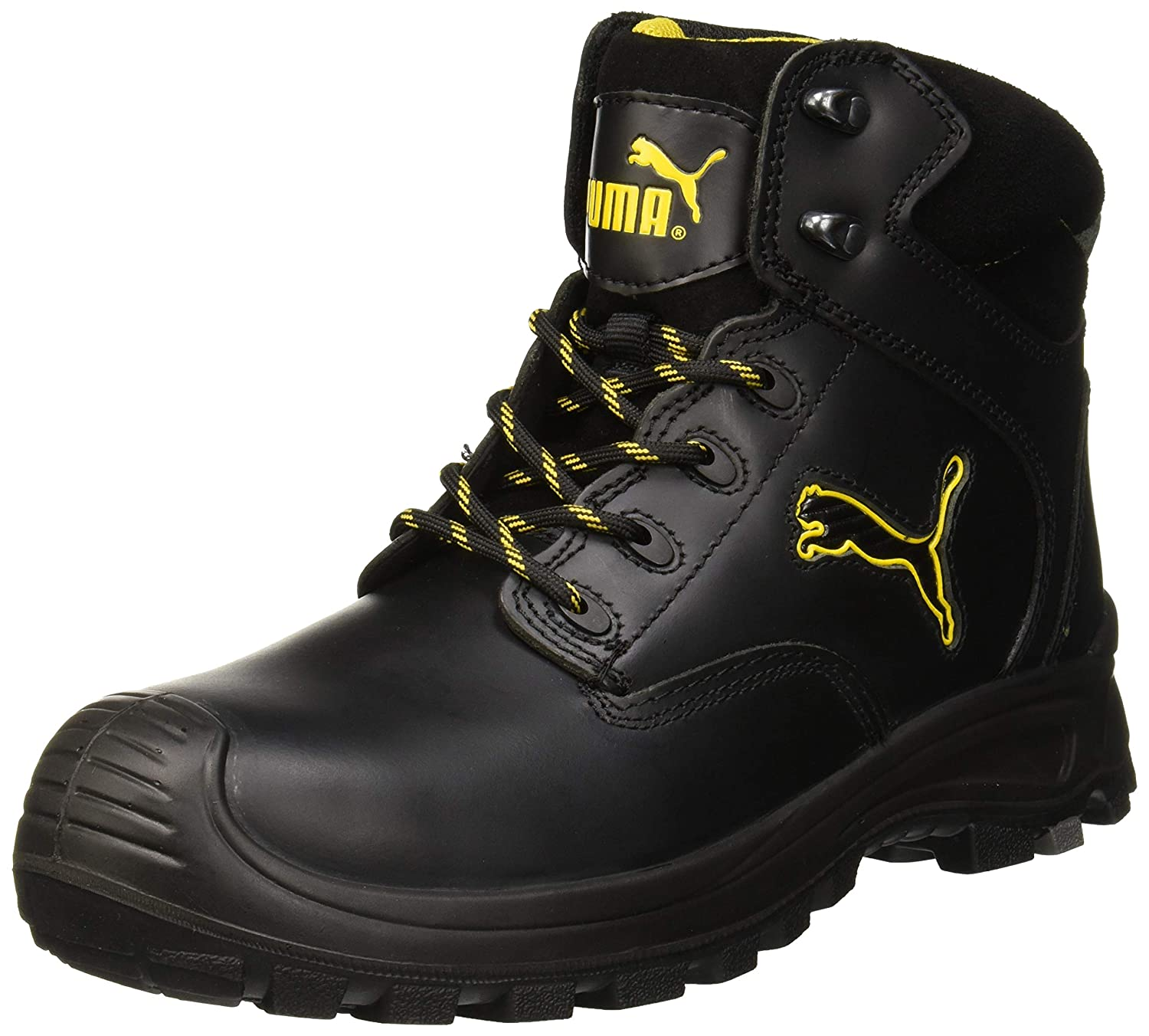 093c3535 Puma Safety Borneo Black Mid S3 HRO SRC, Unisex Adults' Safety Shoes ...