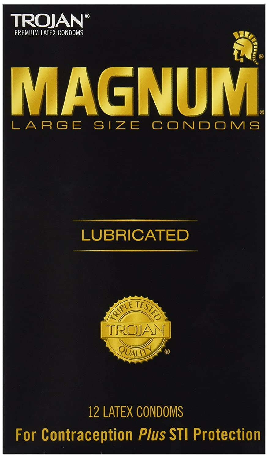 Who are magnum condoms for.