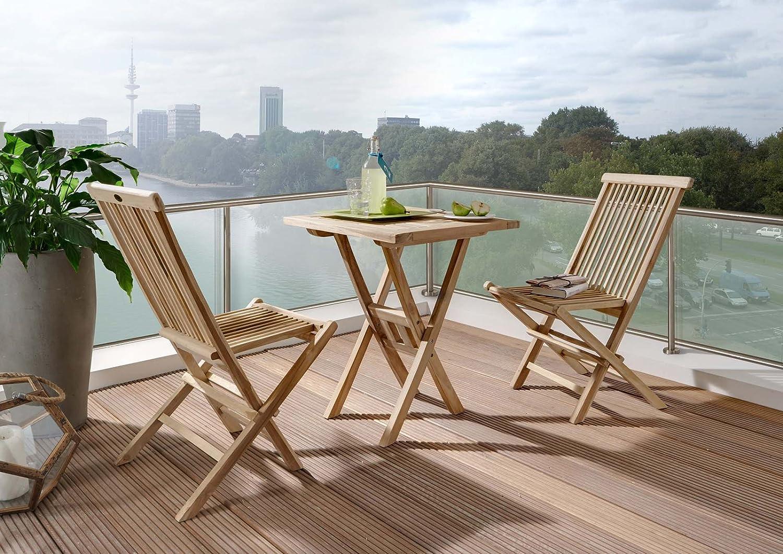 Teak Balkonmöbel Setangebot günstig online kaufen