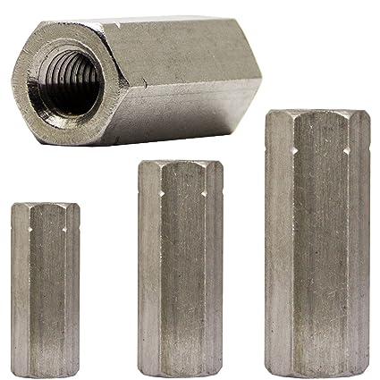 seleziona per ultimo vari tipi di negozio del Regno Unito OPIOL QUALITY - Manicotti filettati esagonali, in acciaio ...