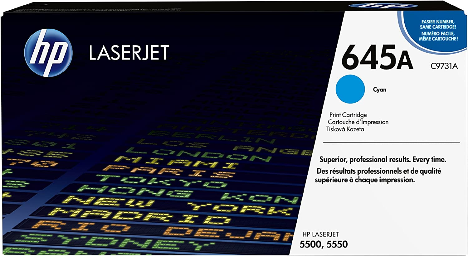HP 645A | C9731A | Toner Cartridge | Cyan