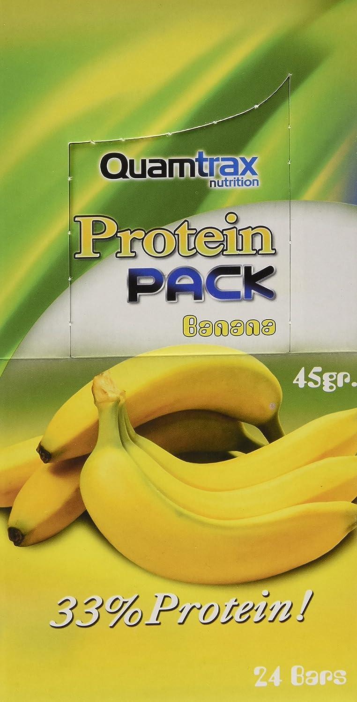 Quamtrax Nutrition Caja Protein Pack, Sabor a Plátano - 24 ...