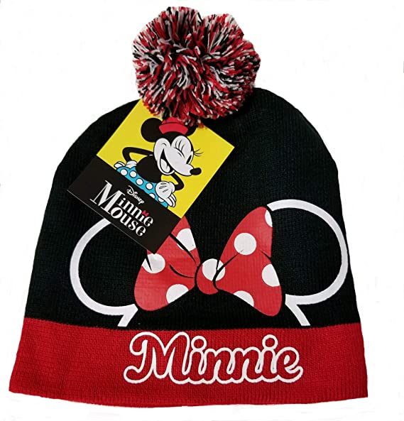 8def47c4ced93 Image Unavailable. Image not available for. Color  Minnie Mouse Youth Beanie  Hat